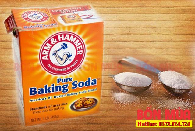 Dùng bột Baking Soda để khử mùi sơn cũng là một ý tưởng hay