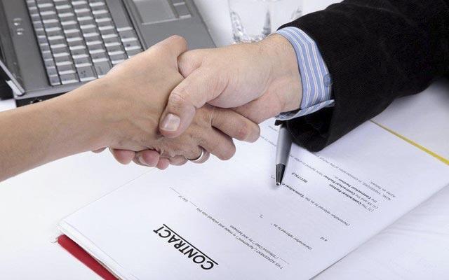 ký kết hợp đồng chuyển nhà xưởng trọn gói
