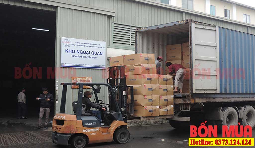 vận chuyển kho xưởng tại hà nội